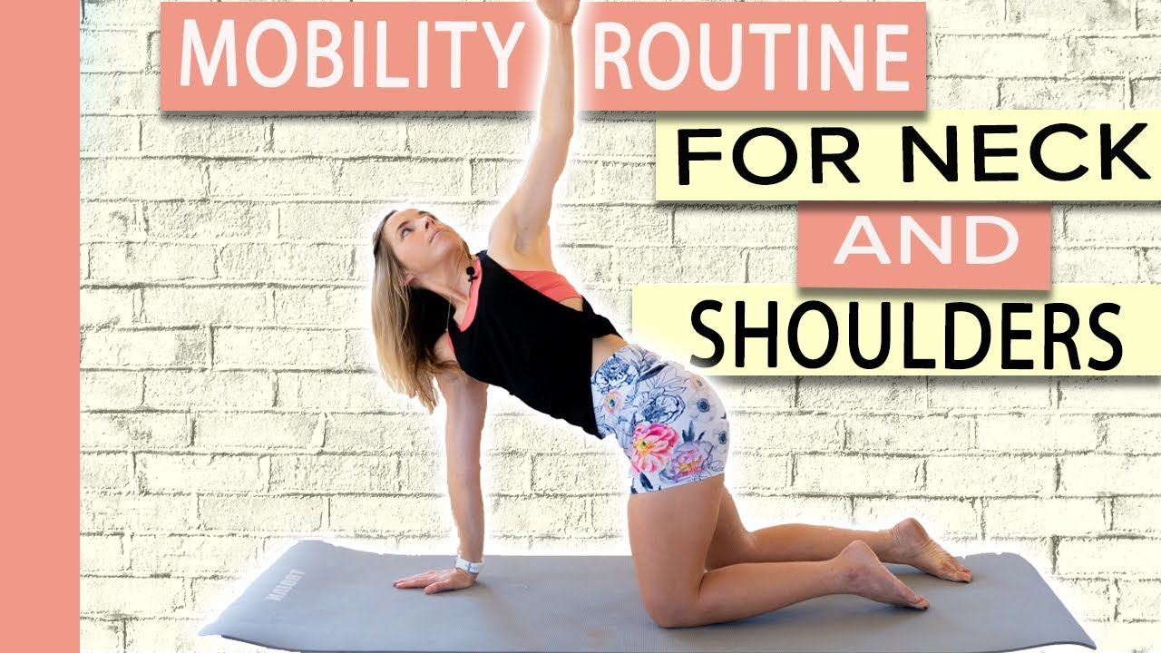 How to Fix a Stiff Neck and Shoulders (Simple Mobility