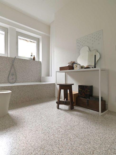 Resultado De Imagen De Bathroom Terrazzo Tile Interiors
