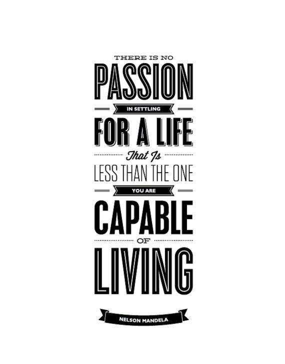 Volg je passie en en vertrouw op jouw talent