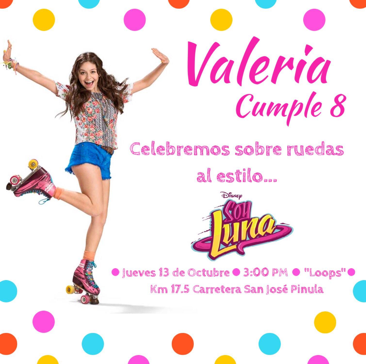 Invite Soy Luna Soy Luna Einladungen Fiesta Tematica Soy
