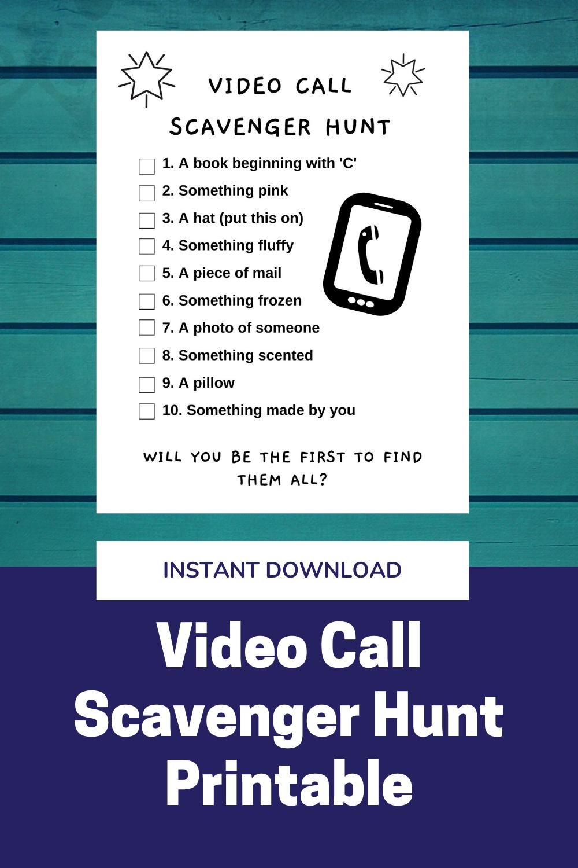 Pin on Scavenger Hunts for Kids