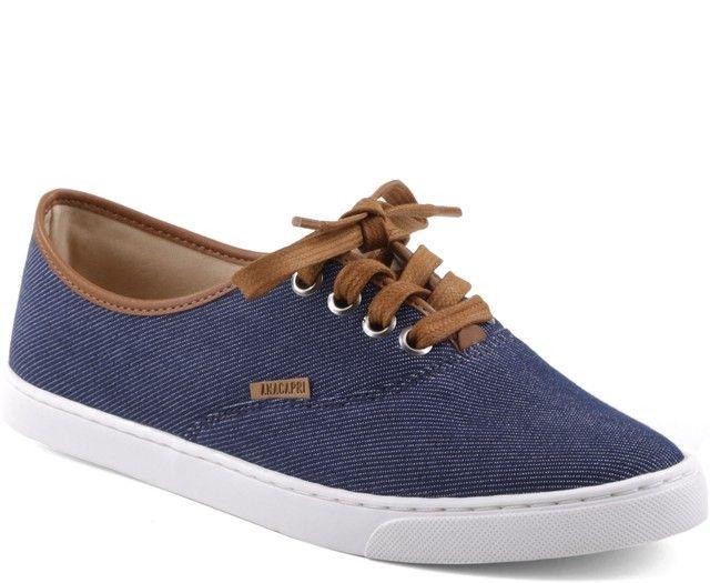 Tênis Ana Jeans Náutico R 119,90 Anacapri   flats   Shoes, Sneakers ... f4f58c9a51