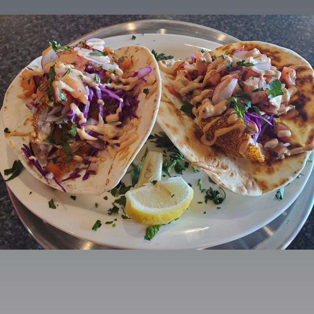 TODAY SPECIAL Great House BBQ  Fried Catfish Tacos w/small Cole slaw and small drink $7.00  4233 Wabash Avenue Springfield Illinois 217-572-1744 #friedcatfish #fishtaco #fishtacos