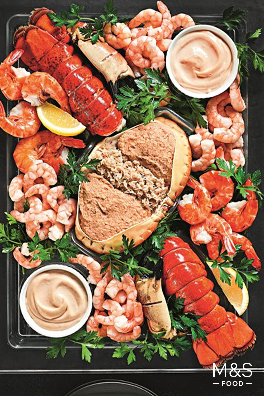 Comprises 4 Lobster Tails Easy Peel Vietnamese Black Tiger Prawns
