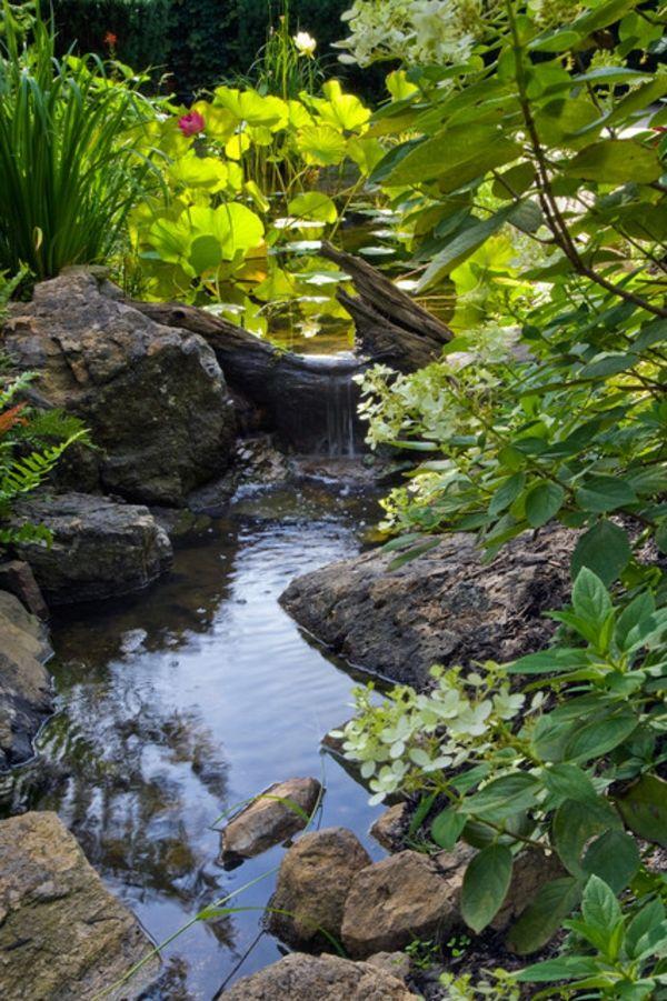 Cascade et fontaine de jardin , 69 déco pour les moments de relaxe – Archzine.fr