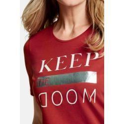 Photo of Shirt mit Frontdruck Rot Gerry WeberGerry Weber