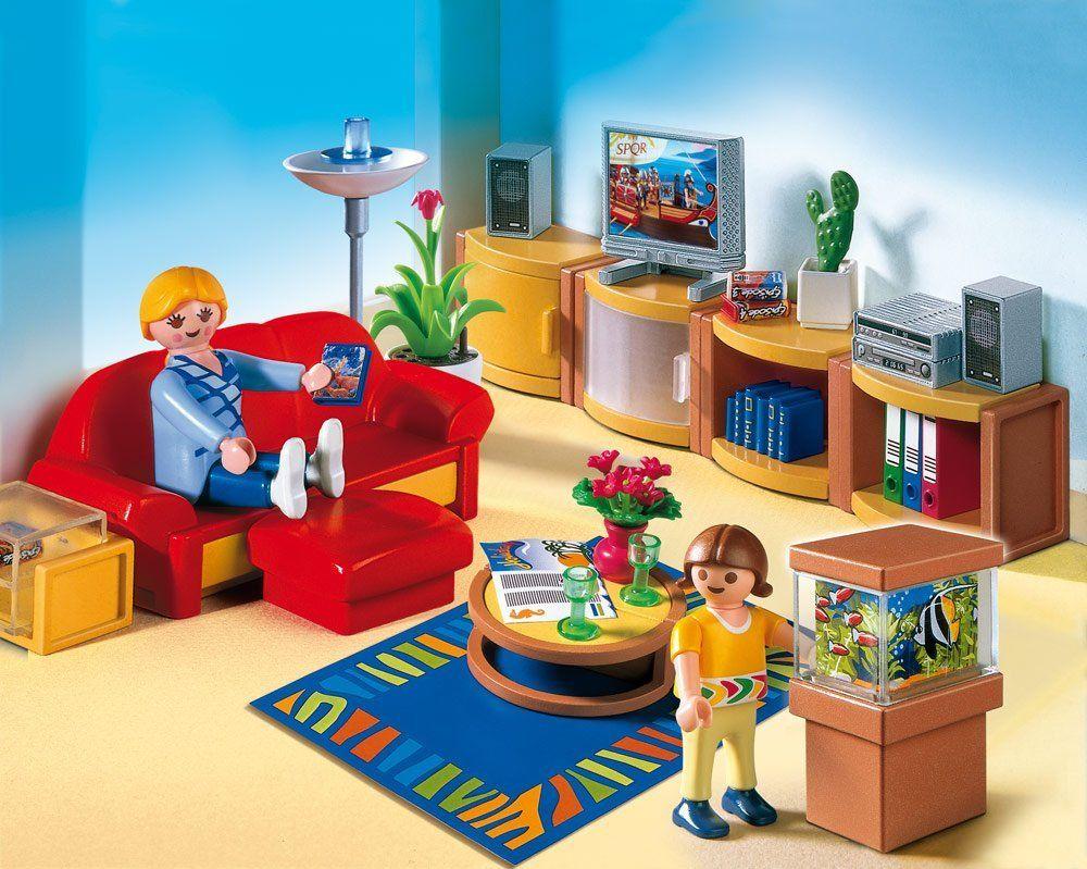 Playmobil living. | Playmobil | Pinterest | Playmobil