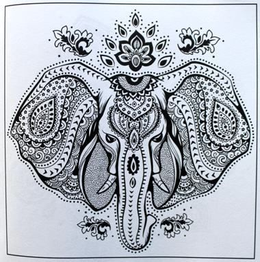 Adult Coloring Books A Book For Adults Featuring Mandalas And Henna Inspired Flowers Animals Paisley Patterns
