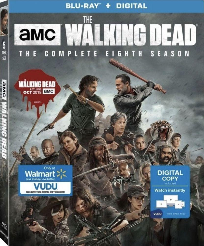 Don T Miss This Walking Dead Season 8 Blu Ray With Slipcover Ebay Walking Dead Season Walking Dead Season 8 The Walking Dead