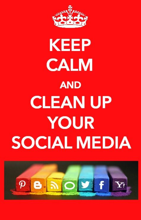 10 Top Tips to Clean Up Your Social Media! [Infographic] http://www.wonderoftech.com/social-media-cleaning-tips/