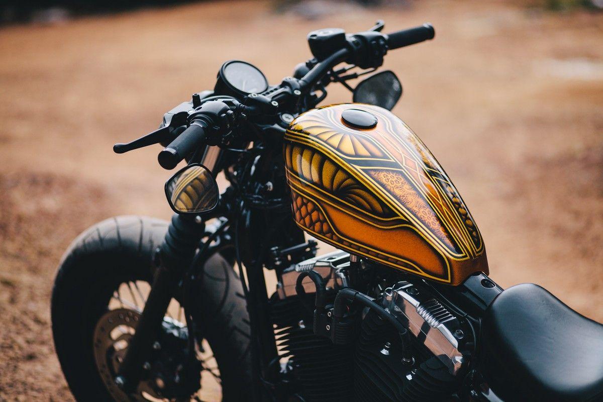 El Trineo – Chris' Harley-Davidson 48 – Throttle Roll