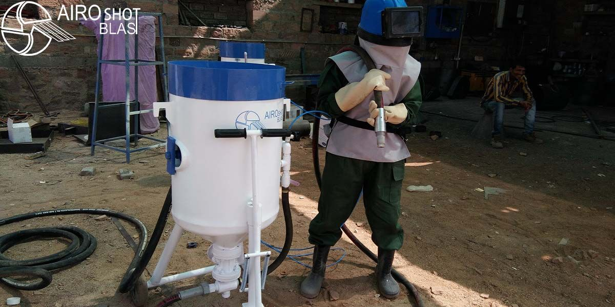 Portable Sand Blasting Machine in India in 2020 Sand