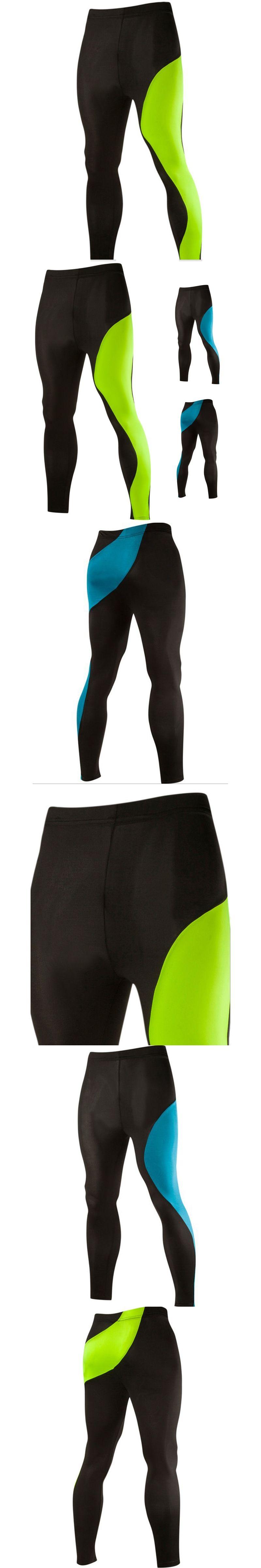 Skinny Men Sport Pants Athletic Slim Fitted Running Menus Pants Gym