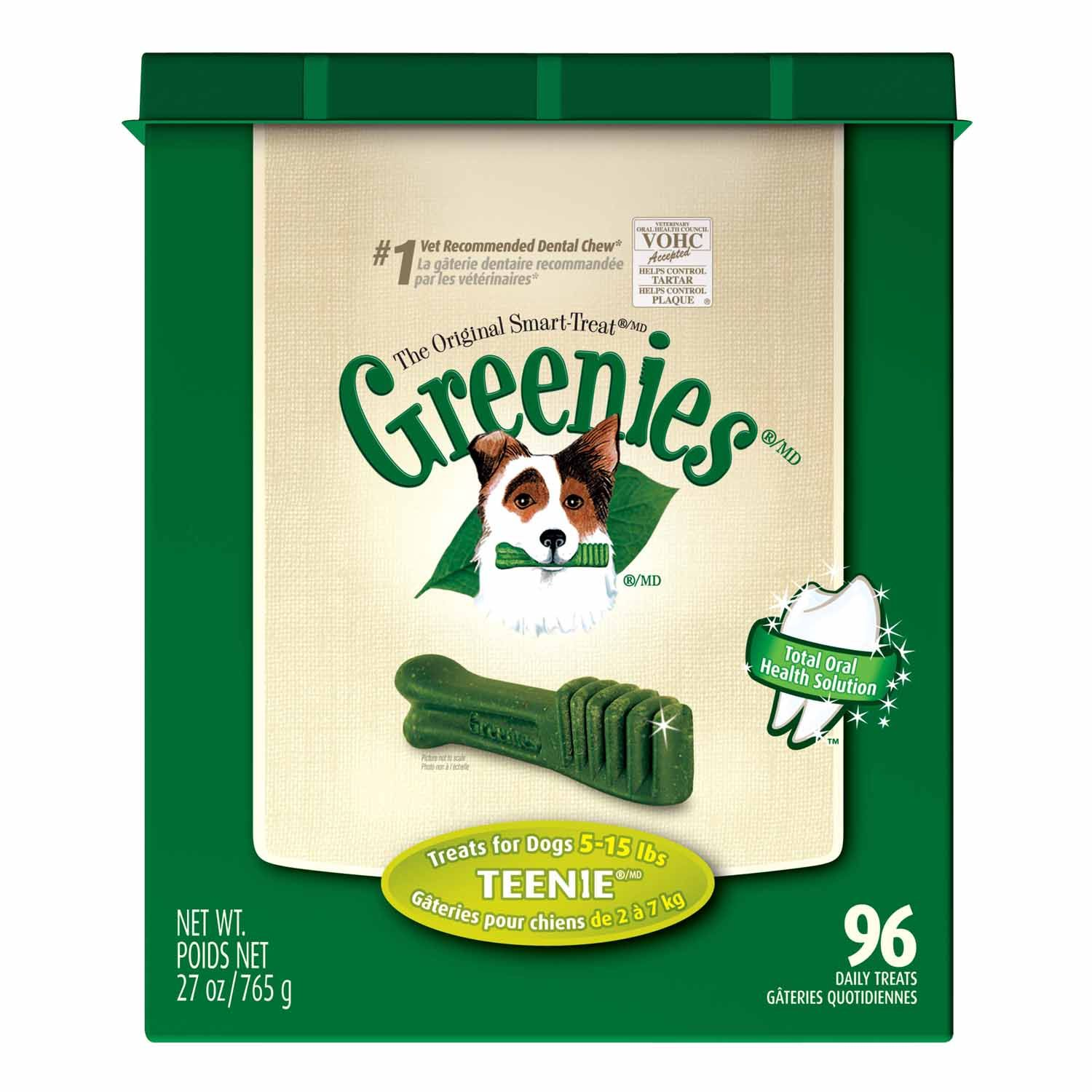 Greenies Dental Treats for Dogs Teenie Dog dental treats