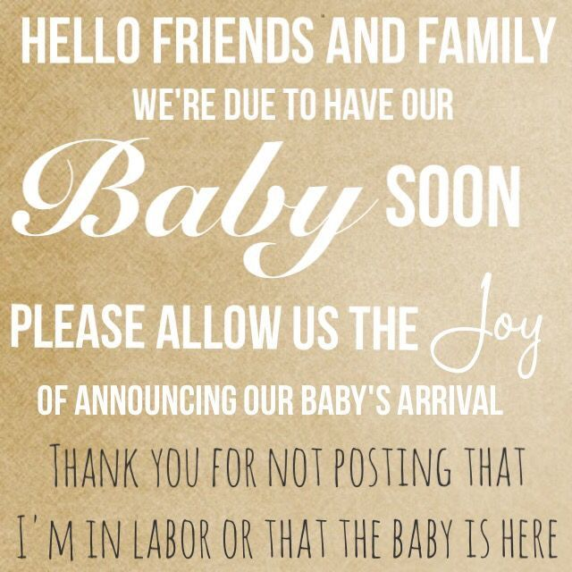 Pin By Darcy On Baby Girls Baby Announcement Baby Birth Announcement Facebook Baby Announcement