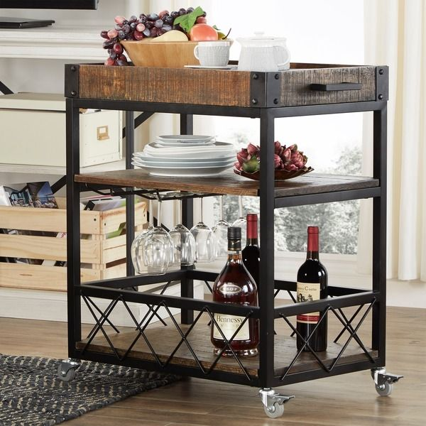 Found It At Wayfair Eastfield Sofia Serving Cart