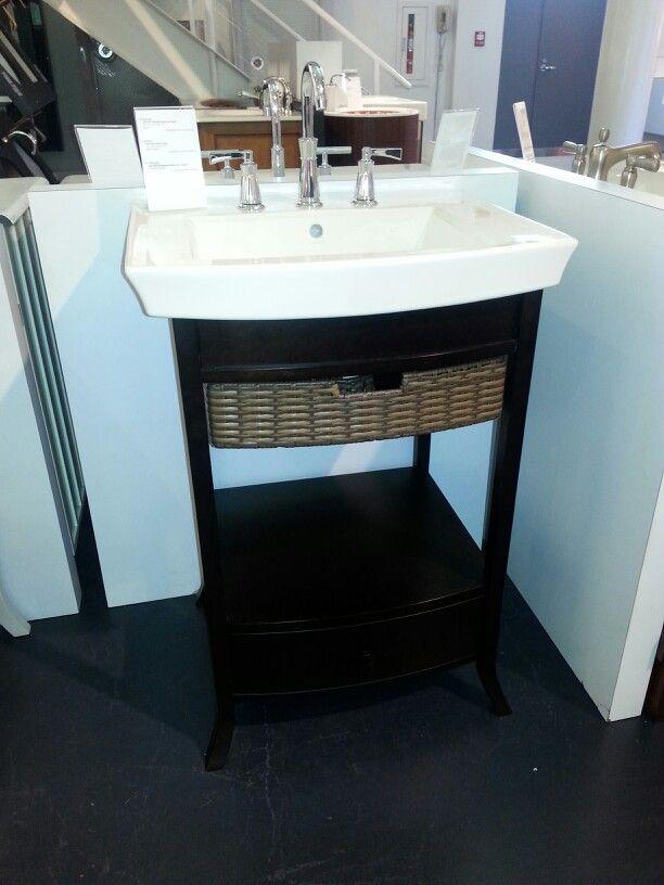 Kohler Vanity Archer Pee With Pedastal Bathroom Sink And Widespread Faucet