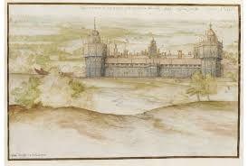 190 – (1538 – 22 de Abril) Se inicia la construcción del Palacio de Nonsuch,  de la familia real de los Tudor,  por Enrique VIII de Inglaterra en Surrey, en el área de Cuddington, próximo a Epsom  (la iglesia y aldea de Cuddington fueron destruidos para permitir su construcción). El palacio fue dividido a finales del siglo XVII, siendo algunas de sus partes incorporadas a otros edificios. En el lugar en el que se alzaba apenan quedan restos de sus basamentos,