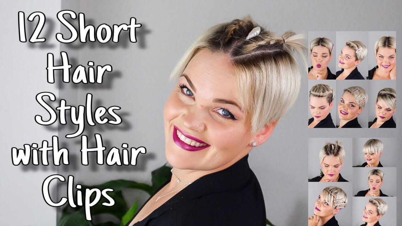 Kurze Haare Stylen Mit Haarspangen Snaps Back To The 90s Youtube Kurze Haare Stylen Kurze Haare Kurze Haare Hochstecken