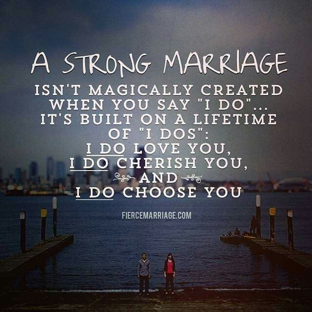 A Strong Marriage