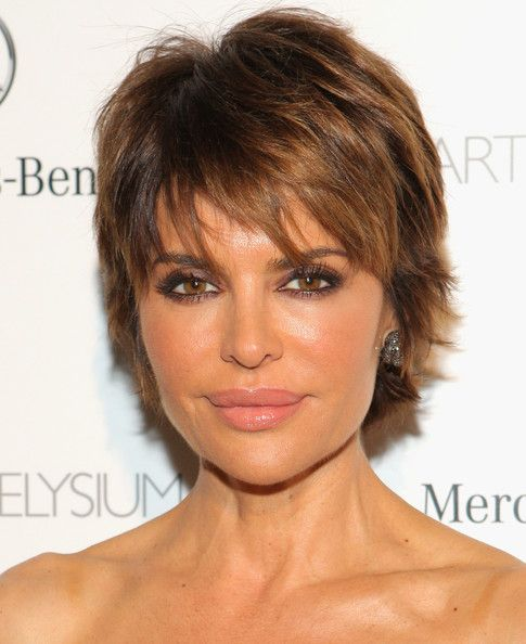 Lisa Rinna Looks Unrecognizable with Long, Wavy Hair