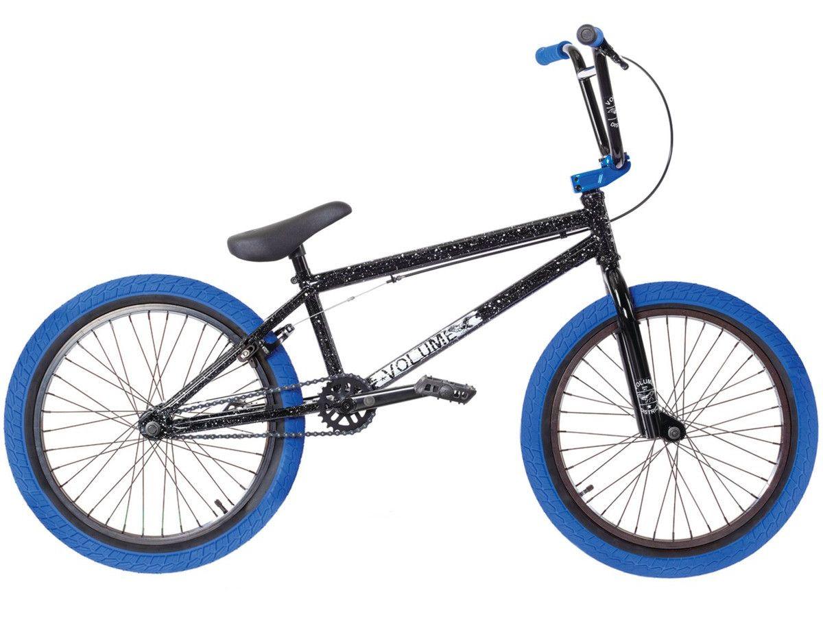 Volume Bikes District 2018 Bmx Bike Black Blue Kunstform Bmx