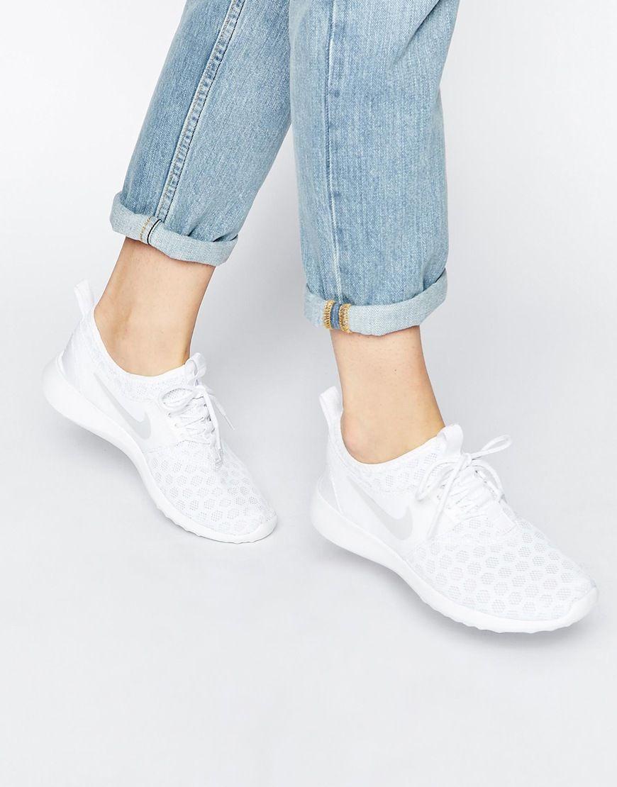 d32a980d Zapatillas de deporte blancas Juvenate de Nike | Moda | Zapatos nike ...
