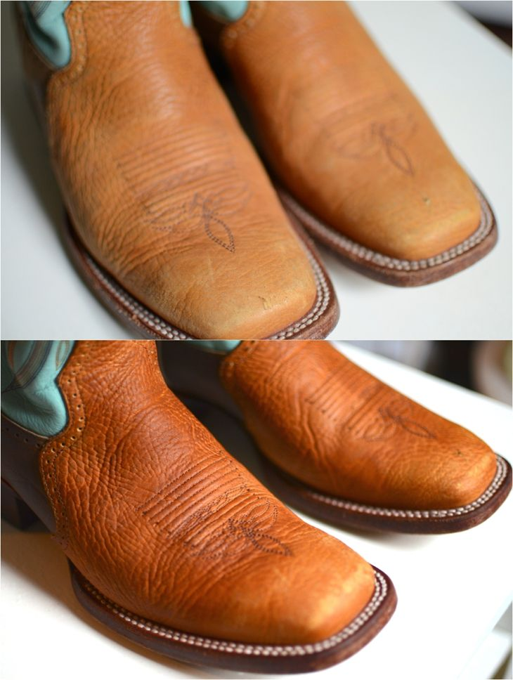 How To Clean Leather Boots Or Any Item With Honey Http