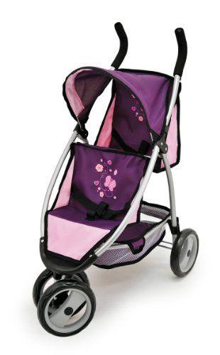 Passeggino Poupon Rose Lili accessori giocattoli xqZ67Y0q