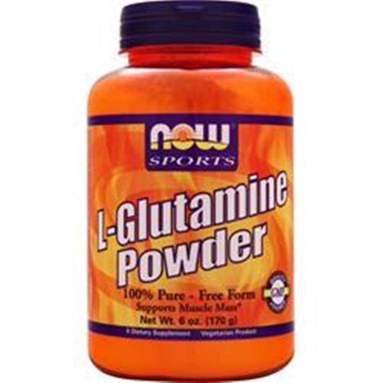 Buy the best supplements with confident! NOW L Glutamine Powder enhance recovery from intense training  6 oz #NOW