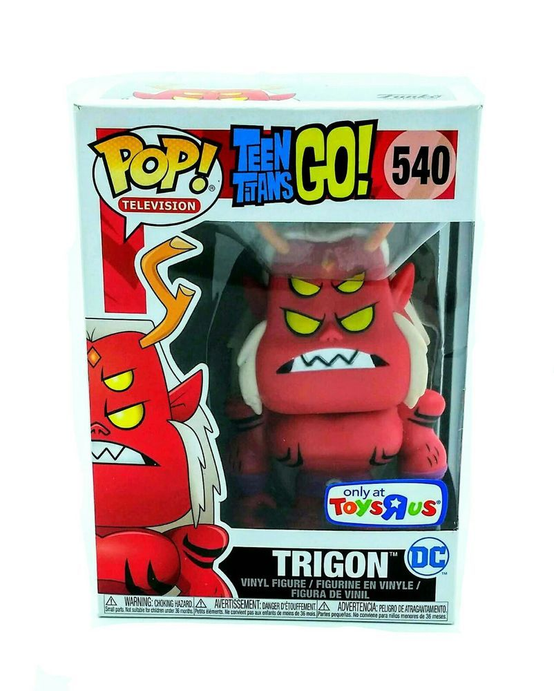 Trigon Exclusive Pop Funko POP VINYL DC Teen Titans Go