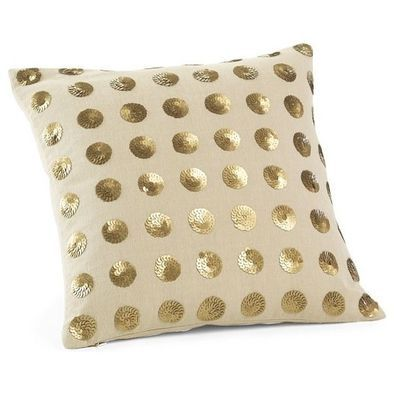 Stick or Stitch Sequins on old cushion covers to prep them up for the Season Of Lights! #Diwali