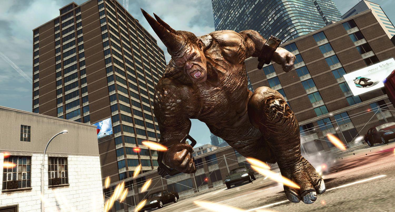 the amazing spider man 2 rhino 3d