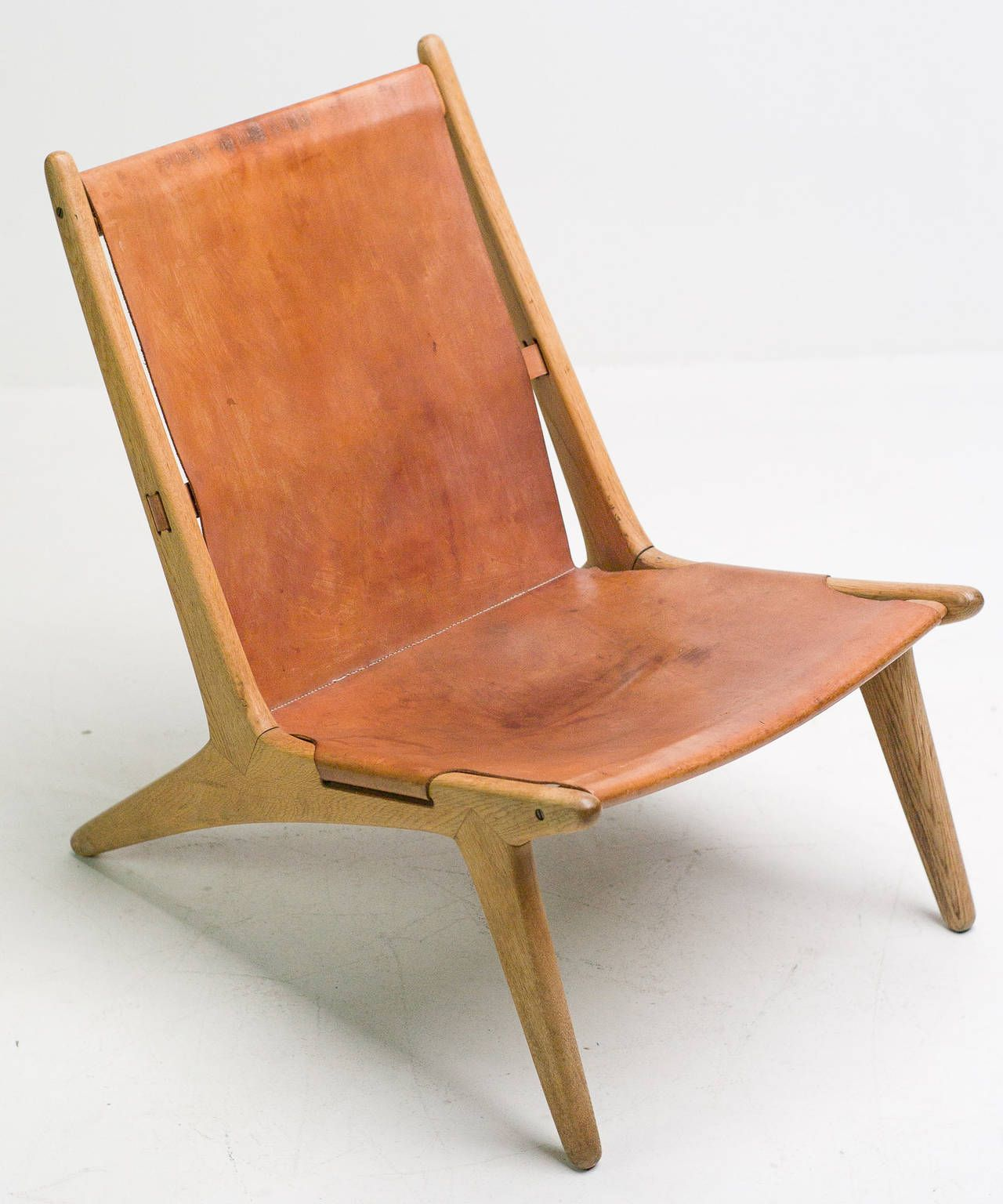 """Pair of """"Hunting Chair"""" model 204 by Uno & Osten Kristiansson"""