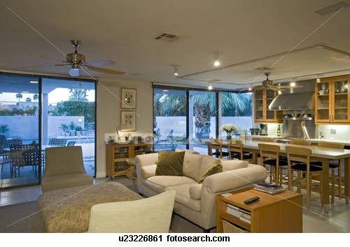 Luxury Interior Design Living Room Stock Image Luxury Interior