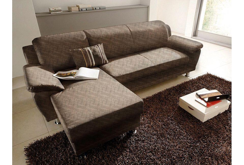 Wohnzimmer garnituren ~ Polstergarnitur beige recamiere links fsc® zertifiziert