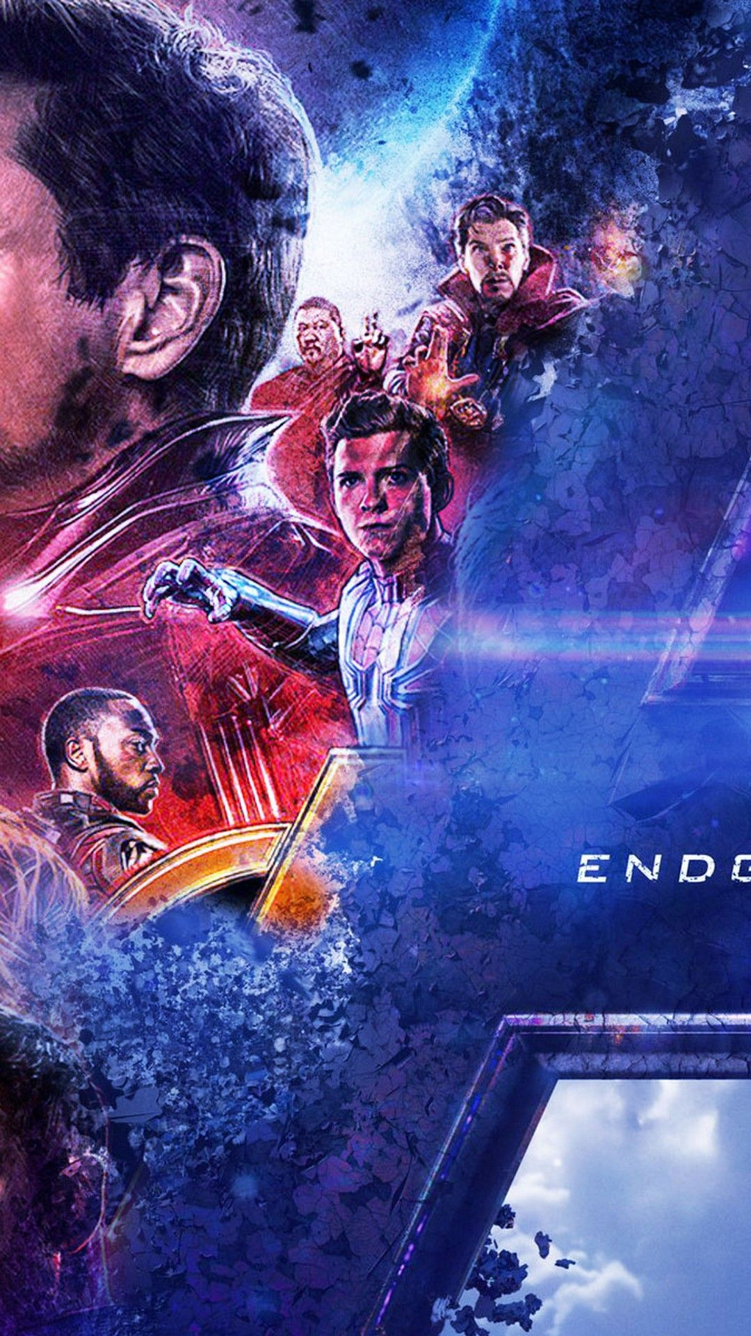 Marvel Endgame Background In 2020 Android Wallpaper Hd Wallpapers For Mobile Wall Graphics Design