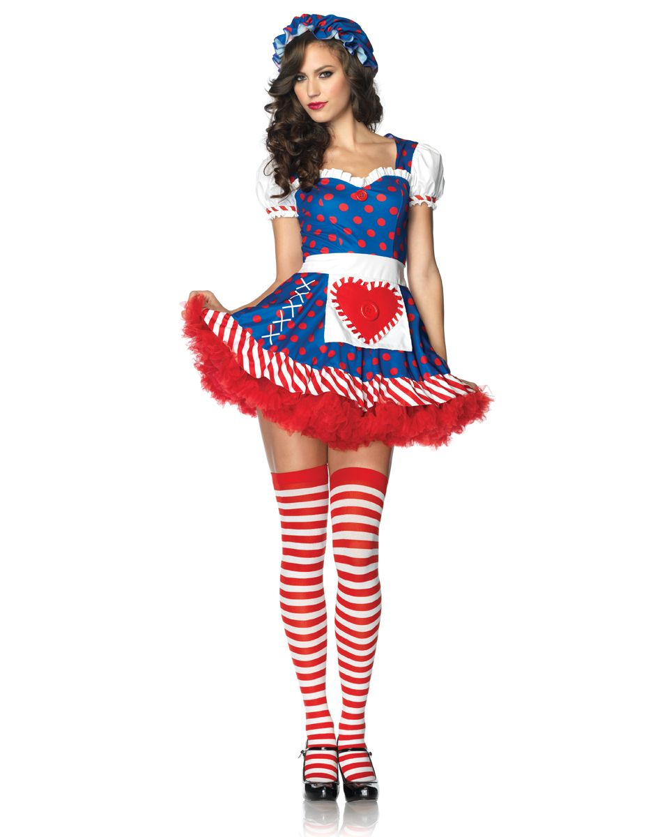 darling dolly raggedy ann heart back cut out costume yep gonna b