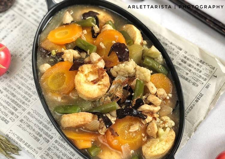 Resep Sapo Tahu Ayam Yang Sempurna Makanan Enak Resep Makanan