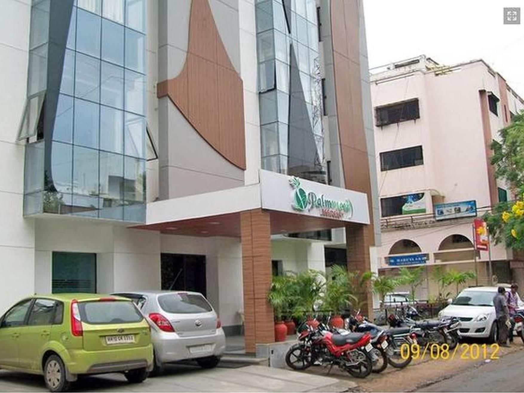 Hotel Prime Residency Vadodara Hotel Palm View Residency India Asia Ideally Located In