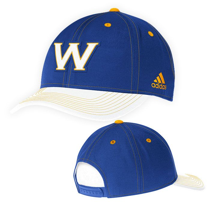 8d4e59a0ed5 Golden State Warriors adidas Structured Adjustable Cap - Royal White ...