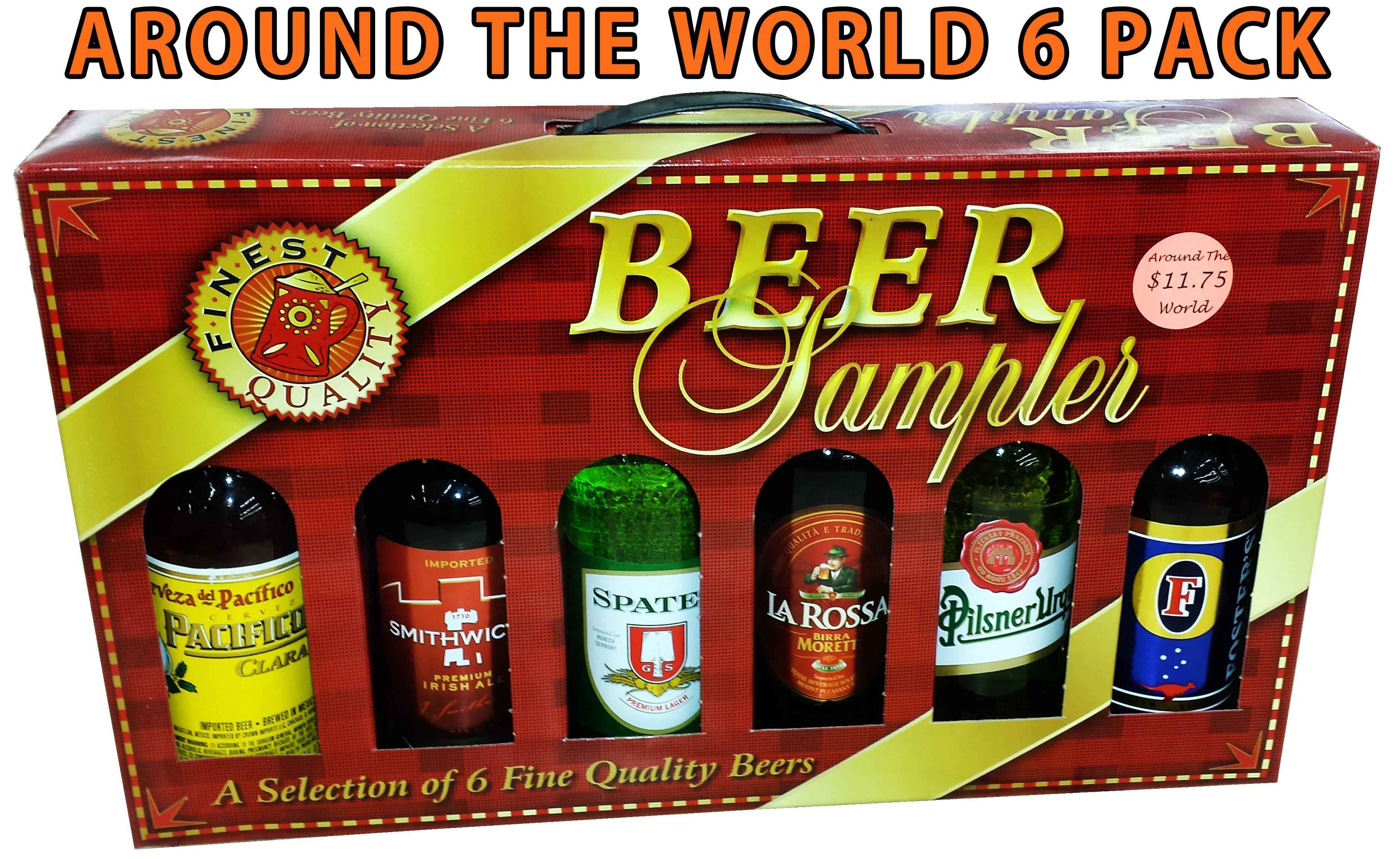 Beersampler sixpack world beer sampler craftbeer