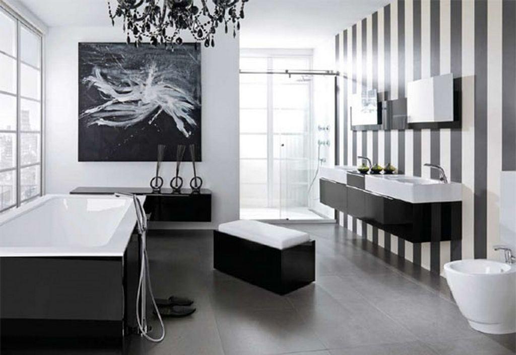 Elegant Black And White Decor