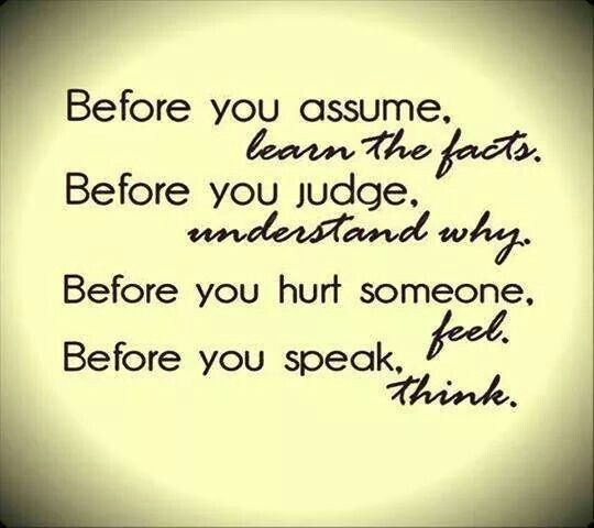Amen! I donu0027t usually comment on the things I post If I post it - assume or presume