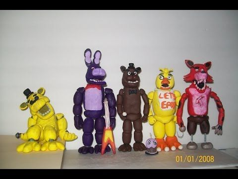 Golden freddy polymer clay tutorial from five nights at freddys golden freddy polymer clay tutorial from five nights at freddys youtube publicscrutiny Choice Image