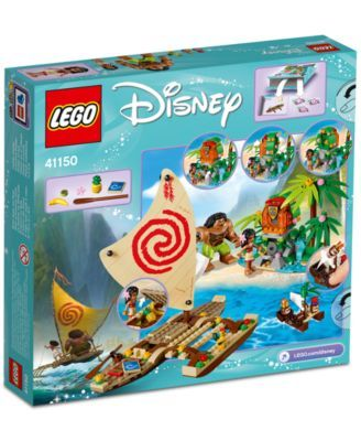 Lego Disney Princess Moana's Ocean Voyage | Lego disney princess ...