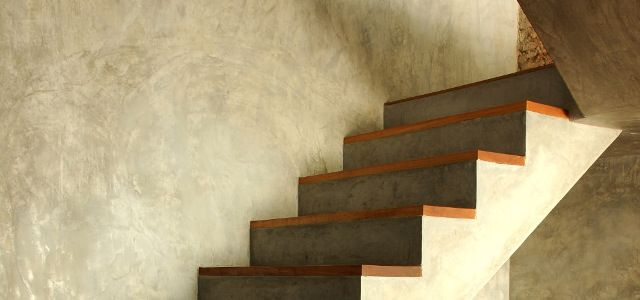 The Beauty Of Waxed Concrete Stairs