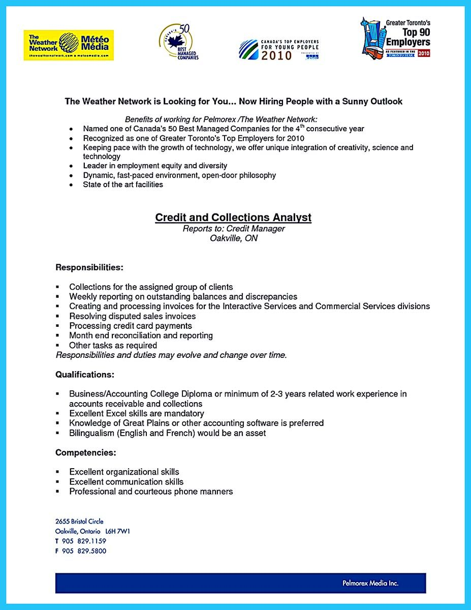Nice Cool Credit Analyst Resume Example From Professional Check More At Http Snefci Org Cool Credit Analyst Resume Example Professional