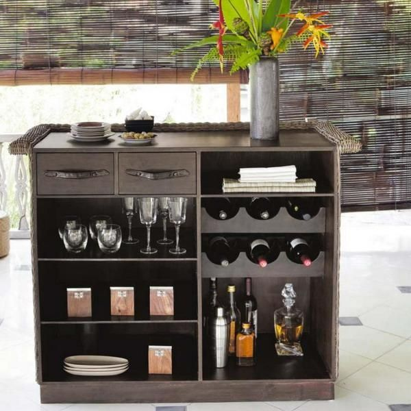 20 Mini Bar Designs For Home: Mini Bar Para El Apartamento