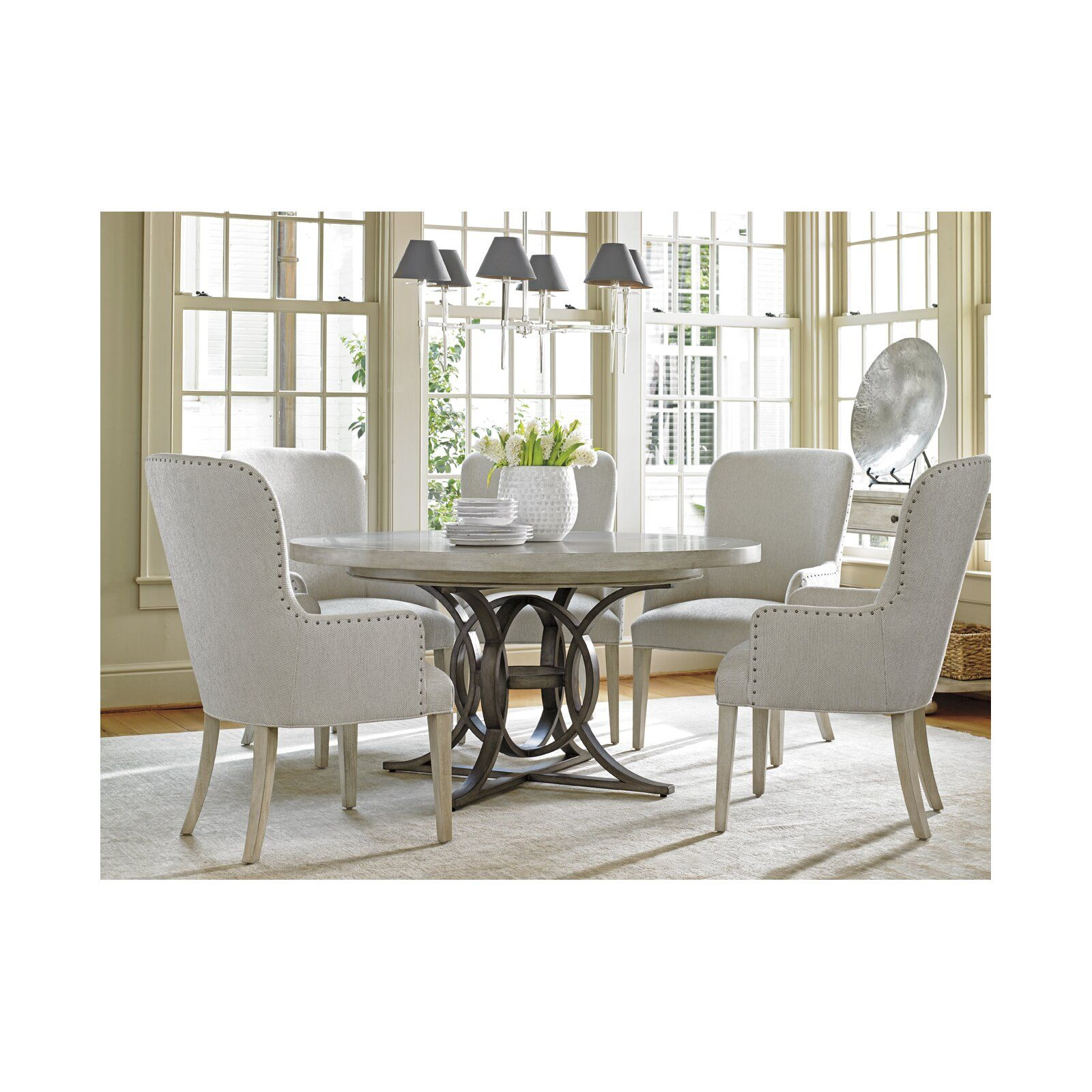 Oyster Bay Calerton Extendable Dining Table Round Dining Room Sets Round Dining Room Dining Room Sets